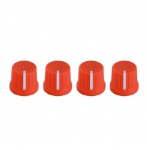 DJ Techtools Fatty Knob Set (Neon Orange)