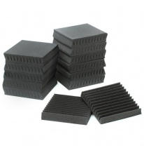 "Auralex Acoustics 1"" Studiofoam Wedges (Charcoal) (24 pcs.)"