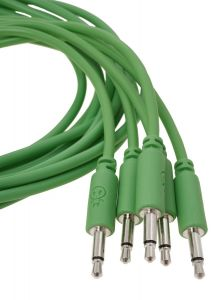 Erica Synths Eurorack Patch Cables 0.3m (5 pcs, Green)