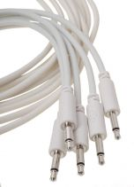 Erica Synths Eurorack Patch Cables 0.1m (5 pcs, White)
