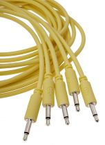 Erica Synths Eurorack Patch Cables 0.1m (5 pcs, Yellow)