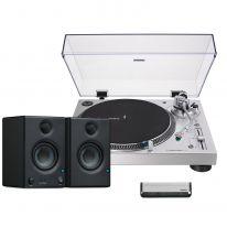Audio Technica LP120XUSB (Silver) + Presonus Eris E3.5 Bundle