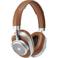 Master & Dynamic MW65 (Silver Metal / Brown Leather)