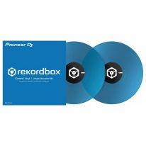 Pioneer Rekordbox Control Vinyl Blue (Pair)