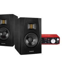 Adam T5V + Focusrite Scarlett 2i2 Bundle