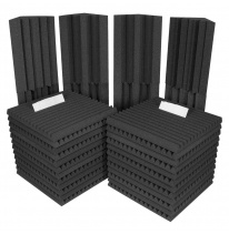 Auralex Acoustics Roominators Project 2 (Charcoal)