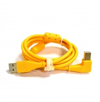 DJ TechTools Chroma USB 2.0 Cable 1.5m (Angled Orange)