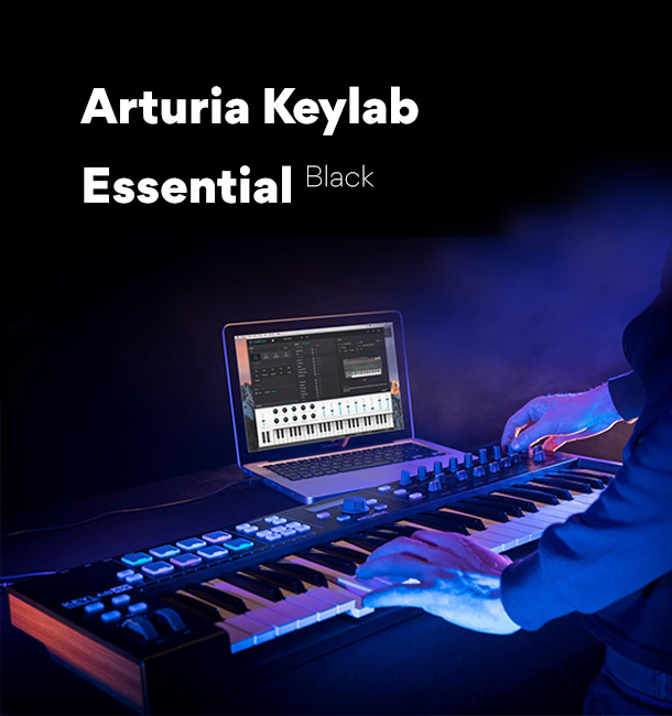 Arturia Keylab Essential Black