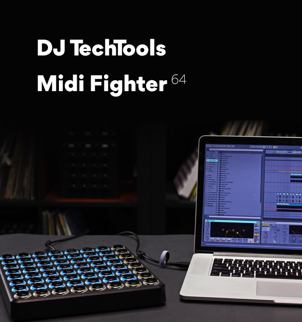 DJ Techtools Midi Fighter 64